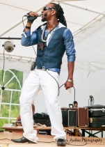 Performing at the Walled Garden Beer Festival